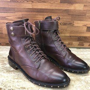 Vince Camuto Talorini combat boots Women's Size 8